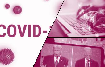 Trump, Biden et Covid